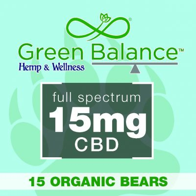 15mg Organic Bears (15 Ct.)
