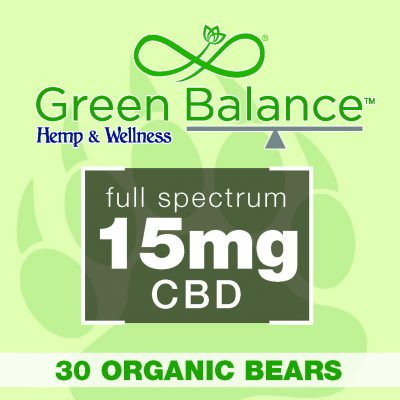 15mg Organic Bears (30 Ct.)